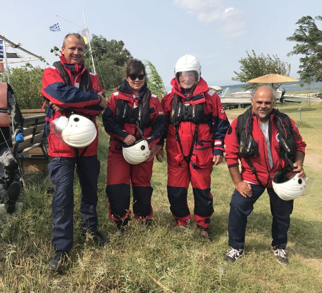Lions Norway financially supports Hellenic Rescue Team