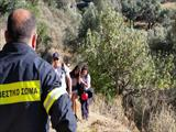Members of the Heraklio H.R.T. traced the missing 16 years old girl at Rethymno