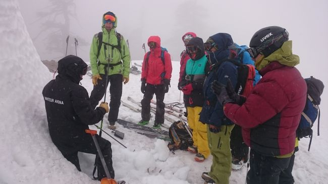 Training programme for rescue people in avalanches has succesfully completed in collaboration with ANENA