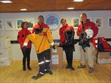 Donation of rescue equipment from the British rescue organization RNLI
