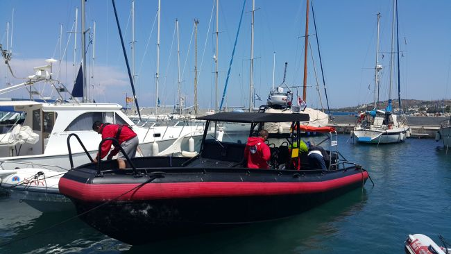 Νέο διασωστικό σκάφος για την Ελληνική Ομάδα Διάσωσης στην Κω