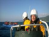 HRT Lesvos assisted in transferring safely refugees ashore