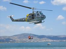 Two-day workshop on maritime and sky rescue at the 111 Combat Wing in Anchialos