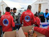 Humanitarian Aid of the Hellenic Rescue Team to the refugees in Idomeni