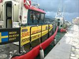 Two rescue boats from the Swedish Sea Rescue Society SSRS enhance HRT Samos's capacity