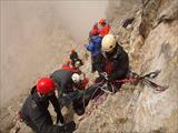 Greek rescuers succeeded in saving a Romanian climber in Olympus