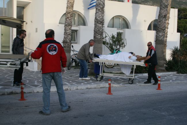 Four years of transportation of patients/injured by the volunteers of department of HRT in Cyclades, Paros