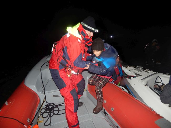 AEGEAS project: The HRT strengthens its forces in Lesvos, Samos and Kos for search and rescue operations