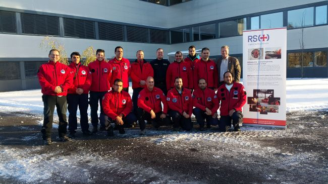 Training on sea rescue procedures for 13 members of the HRT at Norwegian Society for Sea Rescue, in Oslo