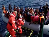 Die Seenotretter and Hellenic Rescue Team cooperate in saving lives at sea in Lesvos