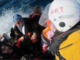 Refugees rescue operation conducted by HRT Lesvos