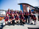 Officer of the Hellenic Rescue Team participates in a training program at the Royal National Lifeboat Institution (RNLI)