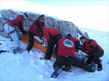 Επιχείρηση απεγκλωβισμού ορειβάτη που έχασε τη ζωή του στον Όλυμπο