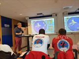 15 HRT volunteers were hosted by RS for the 4th course of maritime rescue training
