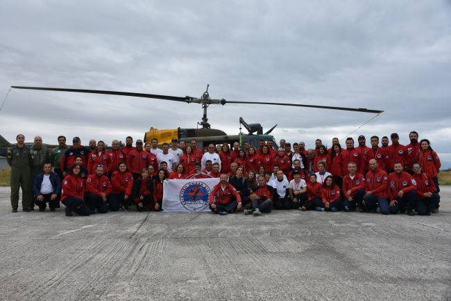 HRT's Aeronautical Search and Rescue training in cooperation with the Hellenic Air Force